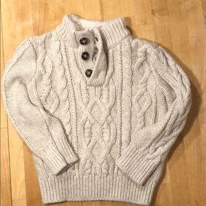 Baby Gap Creme Knit Sweater
